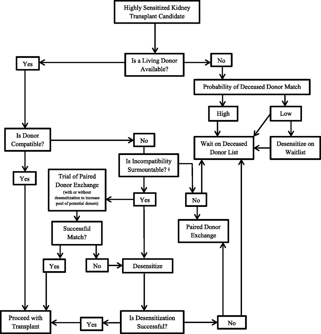 Approach to the Highly Sensitized Kidney Transplant