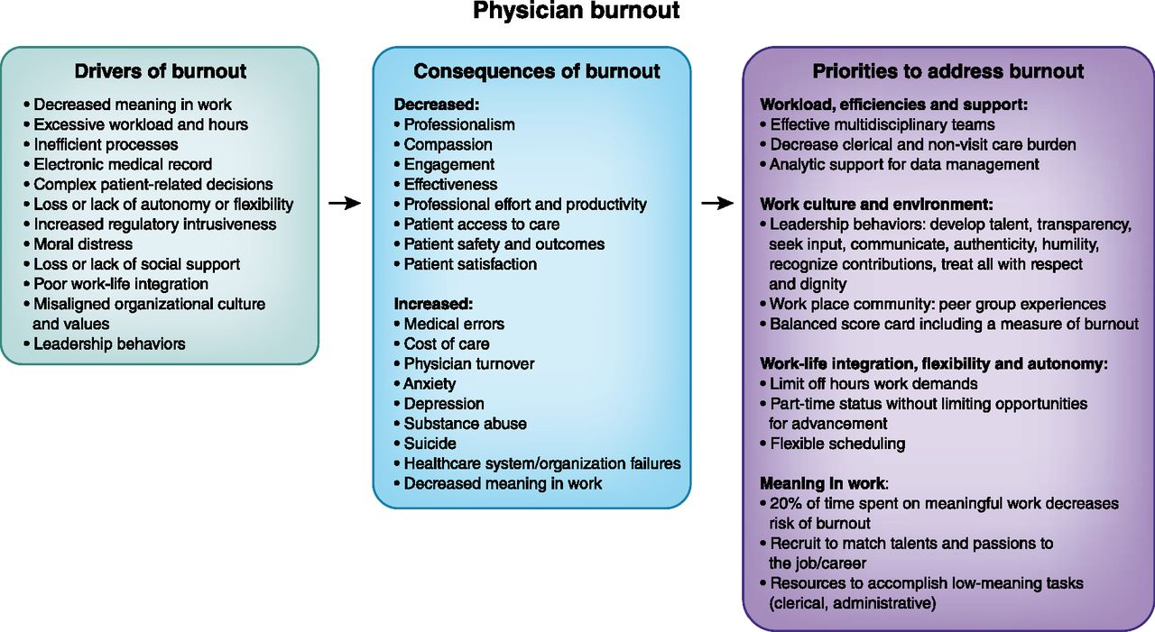 Addressing Physician Burnout   American Society of Nephrology