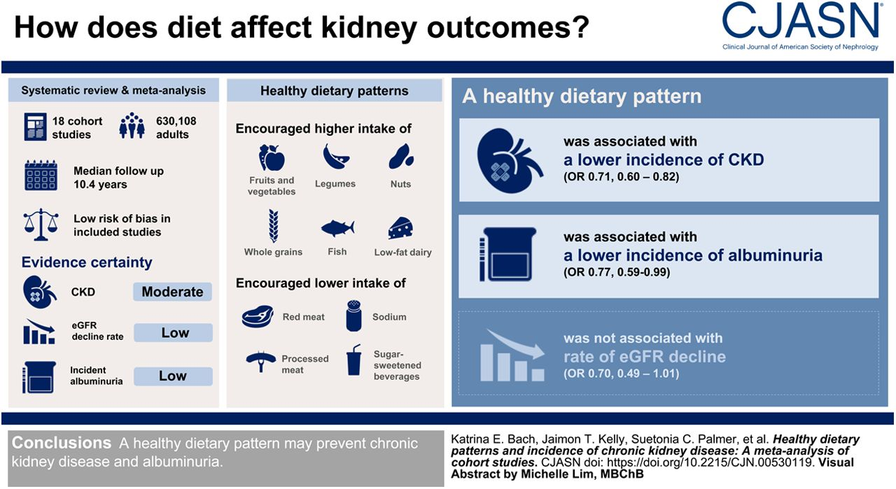 Healthy Dietary Patterns And Incidence Of Ckd American Society Of Nephrology