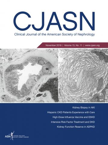 Clinical Journal of the American Society of Nephrology: 13 (11)