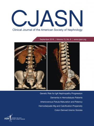 Clinical Journal of the American Society of Nephrology: 13 (9)