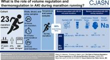 The Role of Volume Regulation and Thermoregulation in AKI during Marathon Running