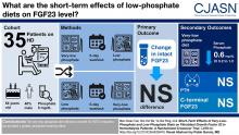 Short-Term Effects of Very-Low-Phosphate and Low-Phosphate Diets on Fibroblast Growth Factor 23 in Hemodialysis Patients