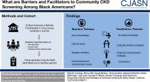 Black Americans' Perspectives of Barriers and Facilitators of Community Screening for Kidney Disease