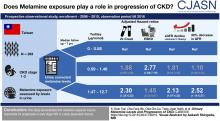 Urinary Melamine Levels and Progression of CKD