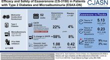 Esaxerenone (CS-3150) in Patients with Type 2 Diabetes and Microalbuminuria (ESAX-DN)