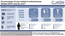 Racial Disparities in the Arteriovenous Fistula Care Continuum in Hemodialysis Patients