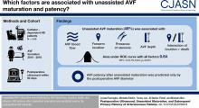 Postoperative Ultrasound, Unassisted Maturation, and Subsequent Primary Patency of Arteriovenous Fistulas