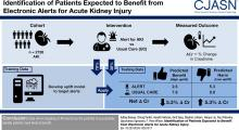 Identification of Patients Expected to Benefit from Electronic Alerts for Acute Kidney Injury