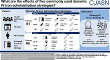 Safety of Dynamic Intravenous Iron Administration Strategies in Hemodialysis Patients