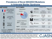 Prevalence of Novel <em>MAGED2</em> Mutations in Antenatal Bartter Syndrome