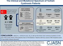 The Clinical and Mutational Spectrum of Turkish Patients with Cystinosis
