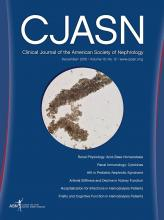 Clinical Journal of the American Society of Nephrology: 10 (12)
