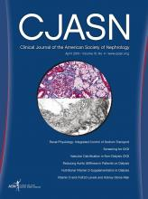 Clinical Journal of the American Society of Nephrology: 10 (4)