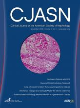 Clinical Journal of the American Society of Nephrology: 11 (11)
