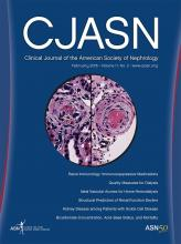 Clinical Journal of the American Society of Nephrology: 11 (2)