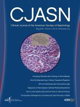 Clinical Journal of the American Society of Nephrology: 11 (5)