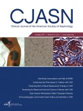 Clinical Journal of the American Society of Nephrology: 12 (1)