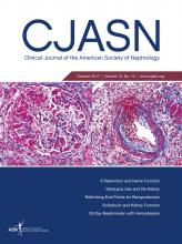 Clinical Journal of the American Society of Nephrology: 12 (10)
