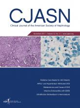 Clinical Journal of the American Society of Nephrology: 12 (11)