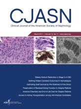 Clinical Journal of the American Society of Nephrology: 12 (3)