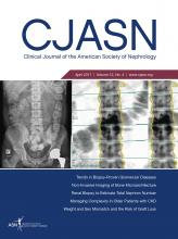 Clinical Journal of the American Society of Nephrology: 12 (4)