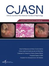 Clinical Journal of the American Society of Nephrology: 12 (6)