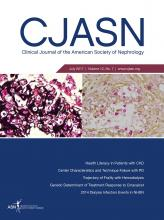 Clinical Journal of the American Society of Nephrology: 12 (7)