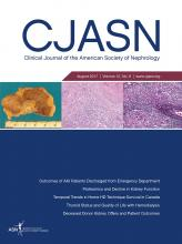 Clinical Journal of the American Society of Nephrology: 12 (8)