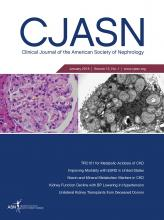 Clinical Journal of the American Society of Nephrology: 13 (1)