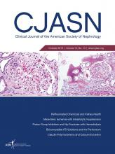 Clinical Journal of the American Society of Nephrology: 13 (10)