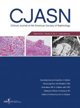 Clinical Journal of the American Society of Nephrology: 13 (3)