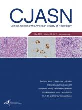 Clinical Journal of the American Society of Nephrology: 13 (5)