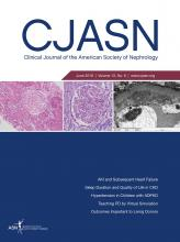 Clinical Journal of the American Society of Nephrology: 13 (6)