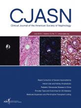Clinical Journal of the American Society of Nephrology: 13 (7)