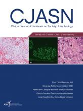 Clinical Journal of the American Society of Nephrology: 14 (1)