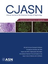 Clinical Journal of the American Society of Nephrology: 14 (12)