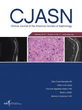 Clinical Journal of the American Society of Nephrology: 14 (2)