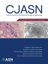 Clinical Journal of the American Society of Nephrology: 15 (12)
