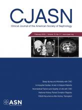 Clinical Journal of the American Society of Nephrology: 15 (2)
