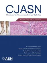 Clinical Journal of the American Society of Nephrology: 15 (3)