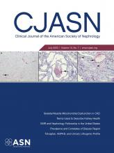 Clinical Journal of the American Society of Nephrology: 15 (7)