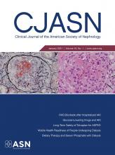 Clinical Journal of the American Society of Nephrology: 16 (1)