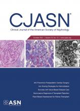 Clinical Journal of the American Society of Nephrology: 16 (10)