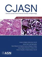 Clinical Journal of the American Society of Nephrology: 16 (2)