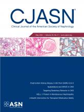 Clinical Journal of the American Society of Nephrology: 16 (5)