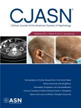 Clinical Journal of the American Society of Nephrology: 16 (9)