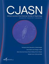 Clinical Journal of the American Society of Nephrology: 6 (11)