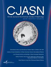 Clinical Journal of the American Society of Nephrology: 6 (4)
