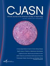 Clinical Journal of the American Society of Nephrology: 6 (6)